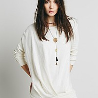 Free People Womens Draped Pullover