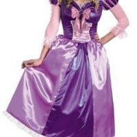 Women's Princess Tangled Rupunzel Shimmer Deluxe Costume by Disguise - Size 18 / 20