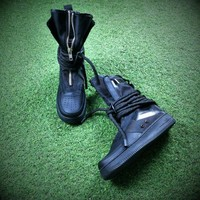 Sale Newest Nike SF Air Force 1 High AF1 Black Functional Boots AA1128-202