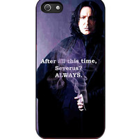 Severus Snape Always Quote Harry Potter iPhone 5s For iPhone 5/5S Case
