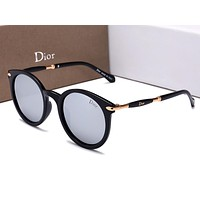 DIOR Popular Ladies Men Elegant Summer Sun Shades Eyeglasses Glasses Sunglasses Grey I-HWYMSH-YJ