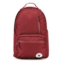Converse Burgundy The Go Backpack
