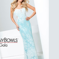 Strapless Sweetheart Prom Gown By Tony Bowls Le Gala 115564