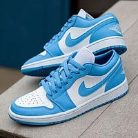 Nike AIR Jordan 1st generation AJ1 men's and women's classic basketball shoes low-top casual sports shoes 2