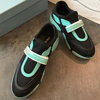 Prada 2018 Women Fashion Casual  Sneakers Sport Shoes
