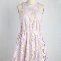 Windflower Waltz Dress in Violet