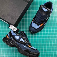 Raf Simons X Adidas Consortium Ozweego 2 Black Sport Running Shoes - Best Online Sale