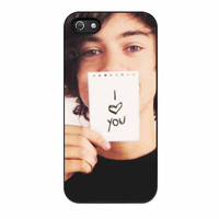 Harry Styles I Love U iPhone 5s Case
