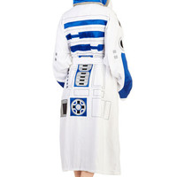 ModCloth Travel Long Sleeve The Robe You're Looking For in R2D2