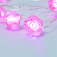 Rose Pink String Lights