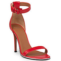 Givenchy - Nadia Leather Sandals - Saks Fifth Avenue Mobile