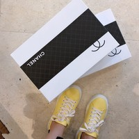 PEAP 1670 CHANNEL Fashion Casual Sports Shoes Yellow