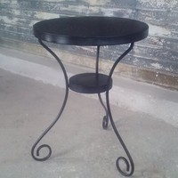 metal patio/cocktail tables