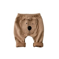 Orangemom soft baby pants cartoon bear PP Leisure leggings for spring baby boy pants spring trousers baby girl clothes