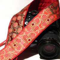 dSLR Camera Strap. Red Camera Strap. Camera Accessories