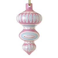 Sugarlane Ornament - Pink (Large)
