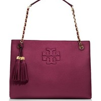 Tory Burch Thea Chain Shoulder Slouchy Tote