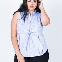 Plus Size Perfect Lines Tank