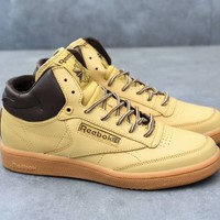 """""""Reebok"""" Men Classic Fashion Leather Casual Plate Shoes Sneakers"""