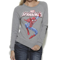 Spider-Man Elbow Patch Sweater   Shop Tops at Wet Seal