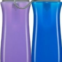 Brita Sport Water Filter Bottle, Twin Pack, Yellow and Mint Spiral, 20 Ounce Bottle (Design May Vary)