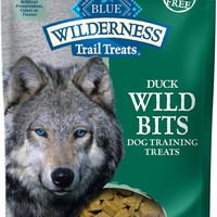 Blue Buffalo Wilderness Trail Treats Duck Wild Bits Grain-Free Training Dog Treats, 4-oz bag