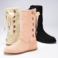 Heirloom Lace-up Boot