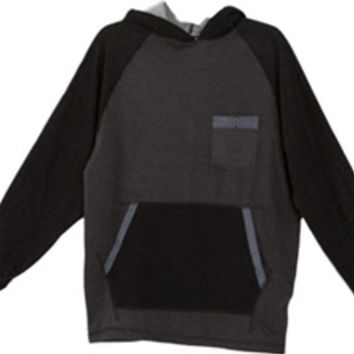 1897 Colorblock Pullover Fleece Hoodie for Men LH45110M