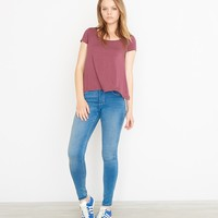 Striped Swing Relaxed Tee