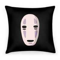 No Face Pillow