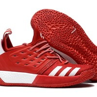Adidas Harden Vol. 2 Red/White Basketball Shoes US7-11.5