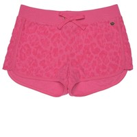 Leopard Jacquard Dolphin Short by Juicy Couture