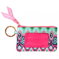 """Simply Southern Key Chain & ID Holder """"Aztec"""""""