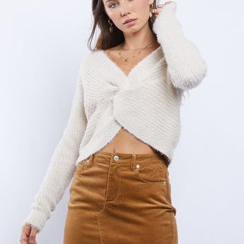 Honey Twist Sweater