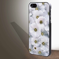 """White Flower for iphone 4/4s/5/5s/5c/6/6+, Samsung S3/S4/S5/S6, iPad 2/3/4/Air/Mini, iPod 4/5, Samsung Note 3/4 Case """"005"""""""
