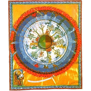 """Cosmos, Body, and Soul"" by St Hildegard"