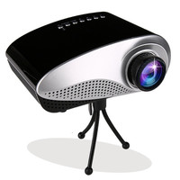 200 Lumens Mini HD Home Theater Multimedia LCD Projector 1080P HDMI USB DVD  D_L = 1713278212