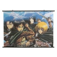 Attack On Titan Scouts Wall Scroll