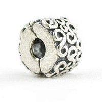 Pandora S Clip Charm in Sterling Silver 790338