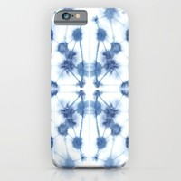 Mirror Dye Blue iPhone & iPod Case by Jacqueline Maldonado