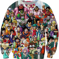 Dragon ball Z and anime Sweater