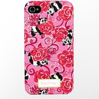 iPhone 4/4s Cover- Alpha Omicron Pi - Lilly Pulitzer