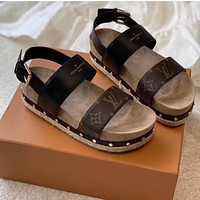 Louis Vuitton Sneakers Sport Shoes Luxury LV Sandals