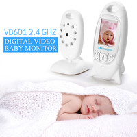 Wireles Baby Radio Babysitter VB601 Infant 2.4 GHz Digital Video Baby Monitor with Night Music Temperature Display Radio Nanny