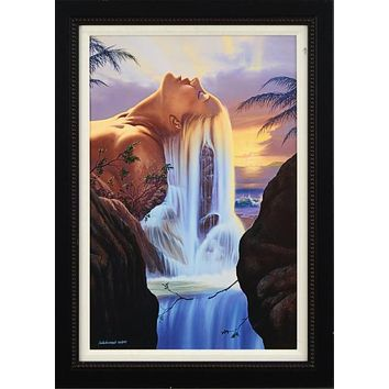 Island Dreams - Limited Edition Giclee on Canvas by Jim Warren