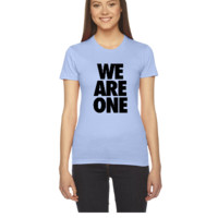 We Are One - Women's Tee
