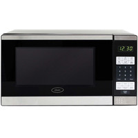 Walmart: Oster 0.7 cu ft Microwave Oven, Stainless Steel and Black