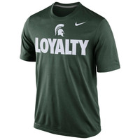 Michigan State Spartans Nike Loyalty Dri-FIT T-Shirt – Green