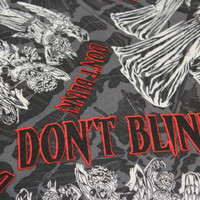 Dr Who,  Don't Blink , Weeping Angels, knitting project bag, Travel Pouch,  Planner Pouch, Makeup Bag, Toiletry Bag, Zipper Pouch
