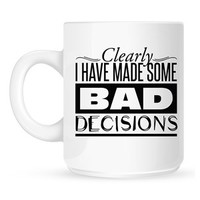Clearly I Have Made Some Bad Decisions Mug Inspired by The Mortal Instruments: City of Bones - Buy Online at Grindstore.com